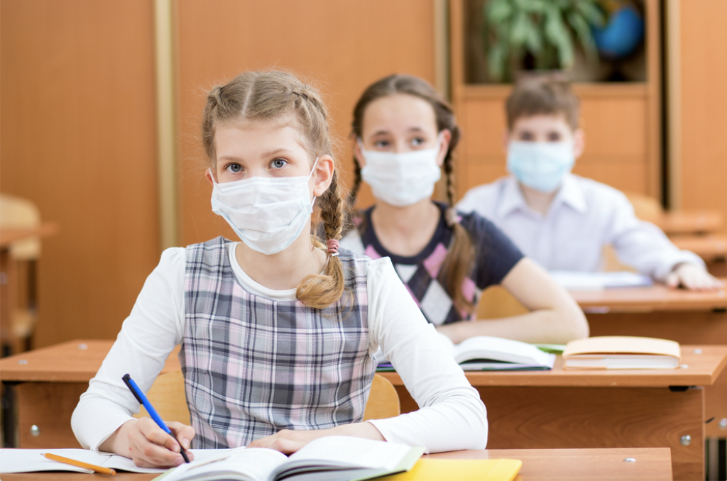 Face masks in schools
